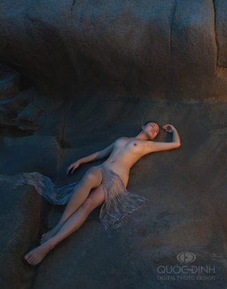 Kiệt tác nude nghệ thuật của Quốc Định